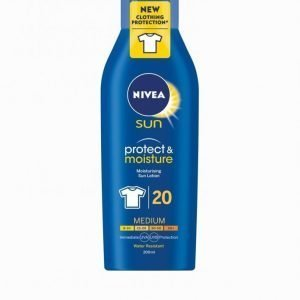 Nivea Spf20 Sun Lotion With Clothing Protection 200 Ml Aurinkosuoja Spf 20