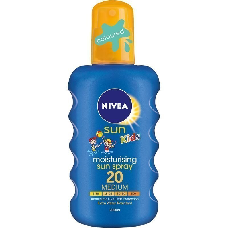 Nivea Sun Kids Moisturising Sun Spray SPF20 200ml