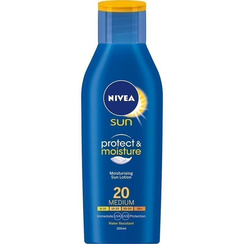 Nivea Sun Protect & Moisture Lotion SPF20 200ml