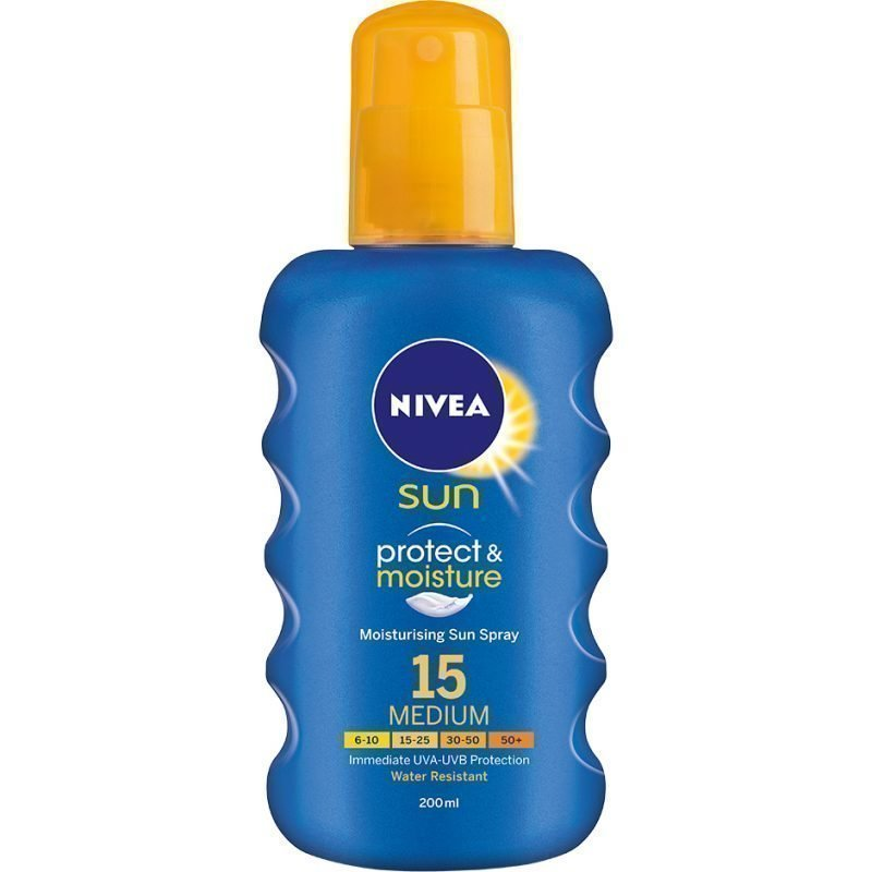 Nivea Sun Protect & Moisture Spray SPF15 200ml
