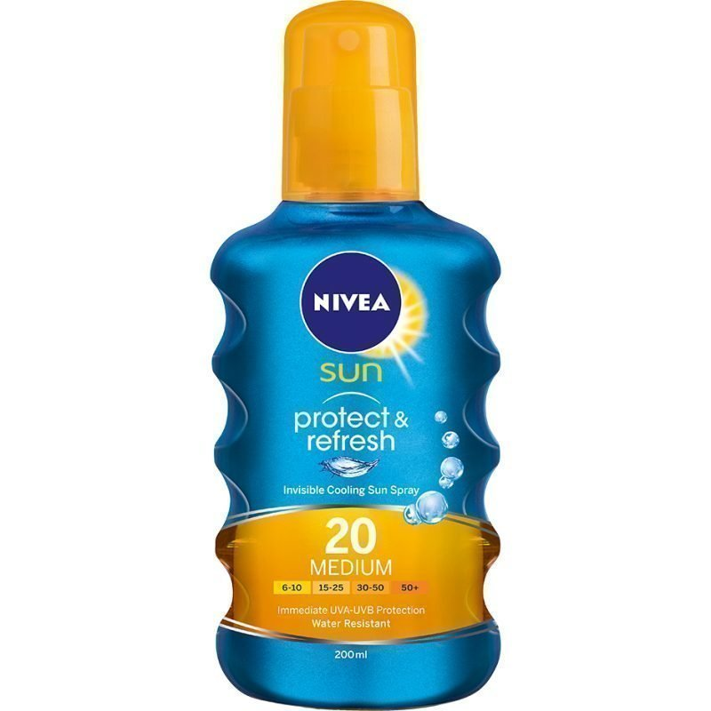 Nivea Sun Protect & Refresh Spray SPF20 200ml