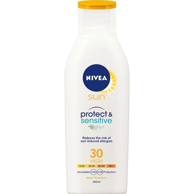 Nivea Sun Protect & Sensitive Lotion SPF30 200ml