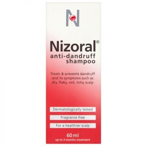 Nizoral Anti-Dandruff Shampoo 60 Ml