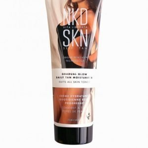 Nkd Skn Self Tan Gradual Glow Daily Tan Moisturiser 250 Ml Itseruskettava Glow