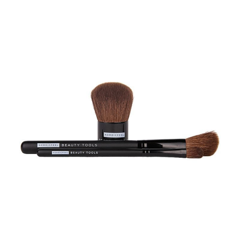 NordicFeel Beauty Tools Beauty Tools Duo Kabuki Brush (Big) Blush Brush Smokey Eye Brush