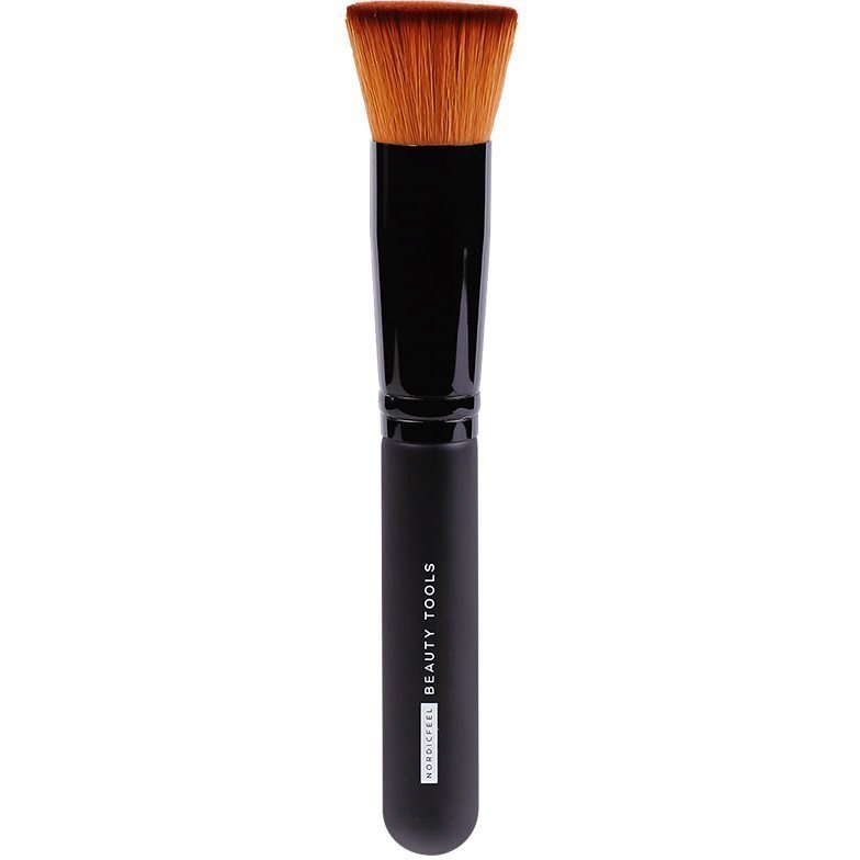 NordicFeel Beauty Tools Flat Top Foundation Brush Flat Medium Brush