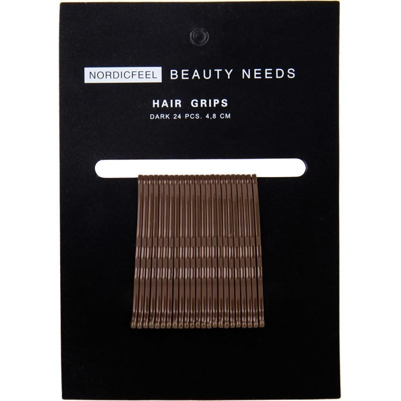Nordicfeel Beauty Needs Nordicfeel Beauty Needs Hair Grips Dark 24pcs 4