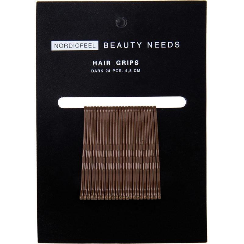 Nordicfeel Beauty Needs Nordicfeel Beauty Needs Hair Grips Dark 24pcs 4