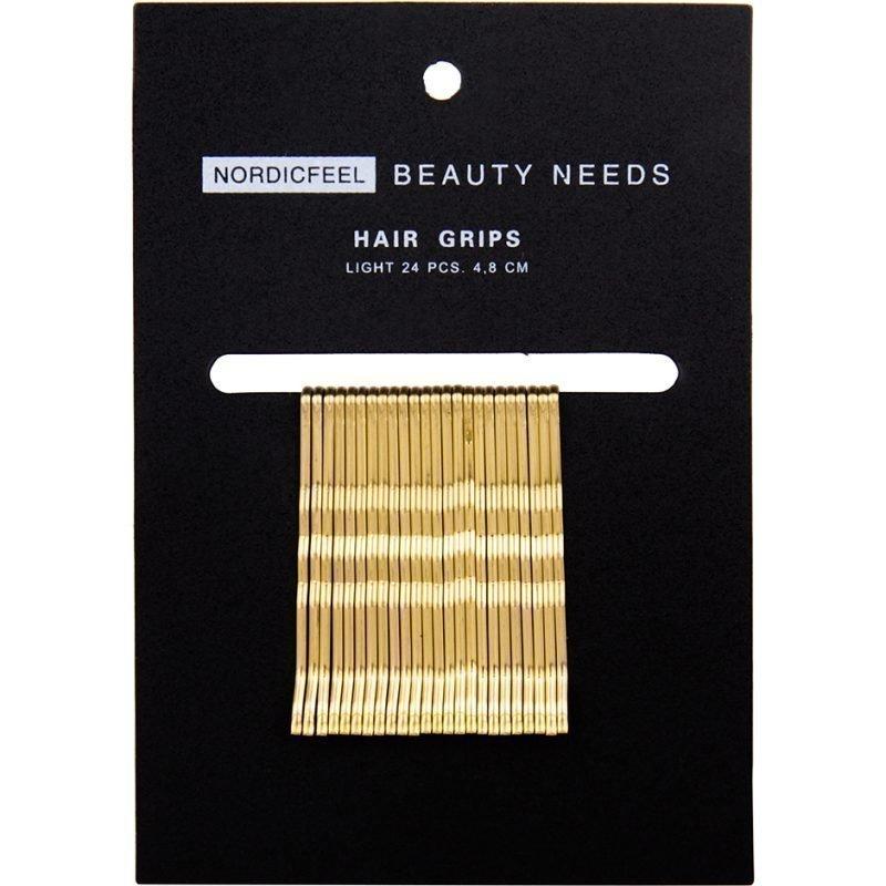 Nordicfeel Beauty Needs Nordicfeel Beauty Needs Hair Grips Light 24pcs 4
