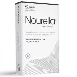 Nourella Maintain Healthy Youthful Skin Active Supplements 60 Tablets 1 Month Supply