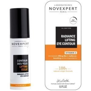 Novexpert Vitamin C Radiance Lifting Eye Gel Silmänympärysgeeli 15 ml