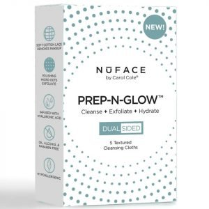 Nuface Prep-N-Glow Cloths Pack Of 5