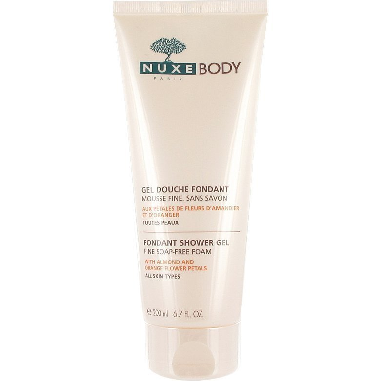 Nuxe Body Fondant Shower Gel (All Skin Types) 200ml