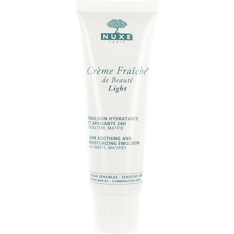 Nuxe Crème Fraîche de Beauté Light 24h Soothing and Moisturizing Emulsion (Sensitive Skin and Combination Skin) 50ml