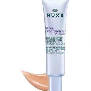 Nuxe Crème Prodigieuse Daily Defence Tinted Cream Light Sävyttävä Päivävoide Spf 30 30 ml