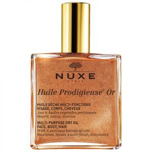 Nuxe Huile Prodigieuse Golden Shimmer Multi Usage Dry Oil 100 Ml