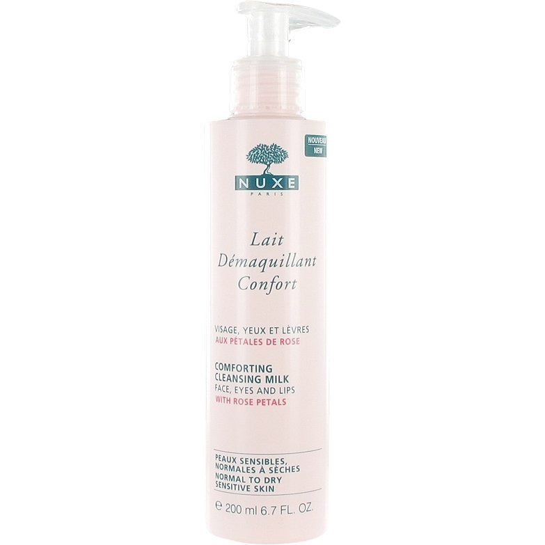 Nuxe Lait Démaquillant Confort Comforting Cleansing Milk (Normal to Dry Sensitive Skin) 200ml