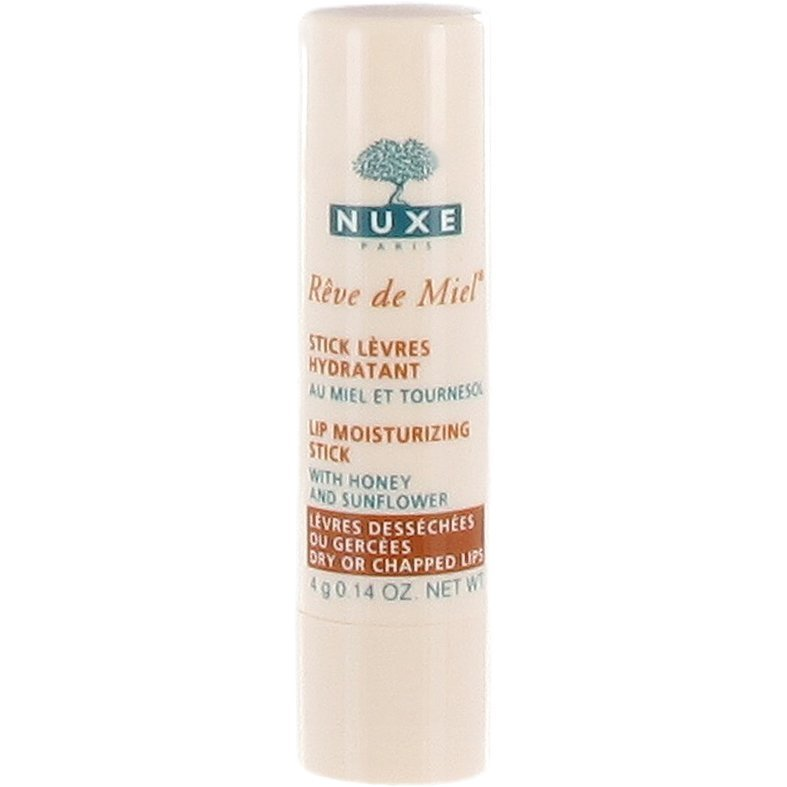 Nuxe Rêve de Miel Lip Moisturizing Stick (Dry or Chapped Lips) 4g