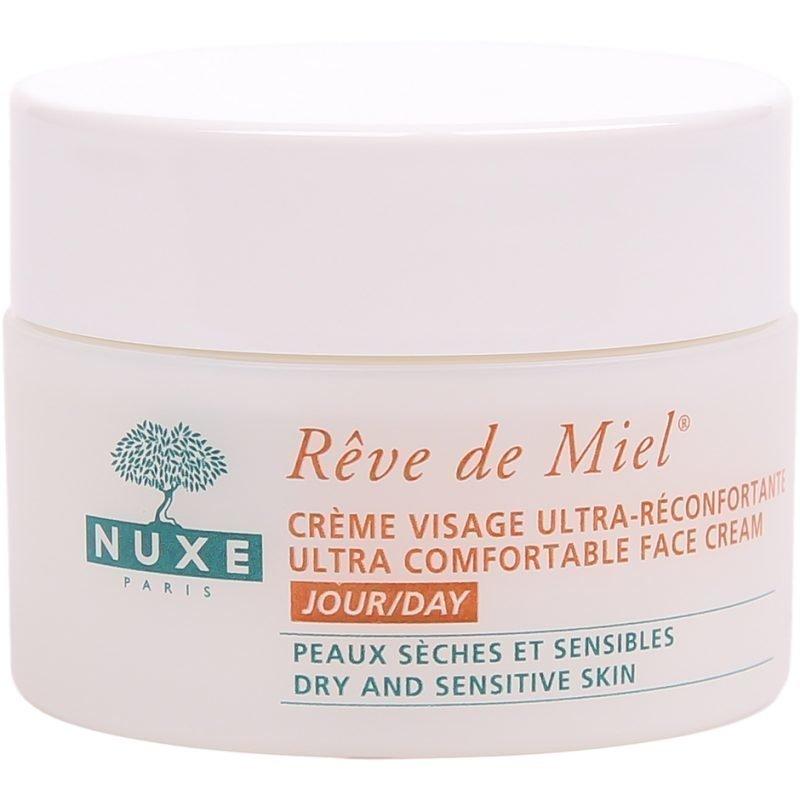 Nuxe Rêve de Miel Ultra Comfortable Day Face Cream (Dry & Sensitive Skin) 50ml
