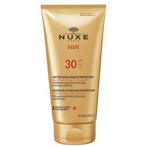 Nuxe Sun Face And Body Delicious Lotion Spf 30 150 Ml