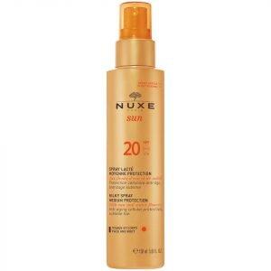 Nuxe Sun Milky Spray Face And Body Spf 20 150 Ml Exclusive