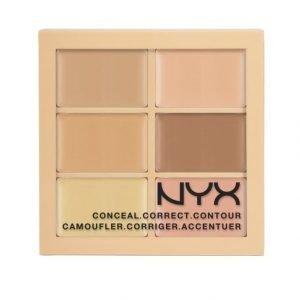 Nyx Conceal Correct Contour Palette Contour Paletti