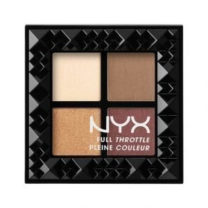 Nyx Full Throttle Shadow Palette Luomiväripaletti