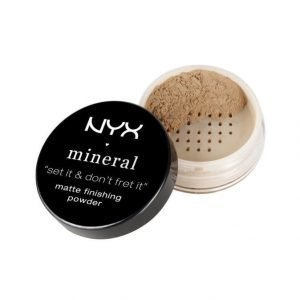 Nyx Mineral Finishing Powder Mineraalipuuteri