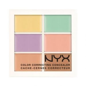 Nyx Palette Color Correcting Concealer Peiteväripaletti