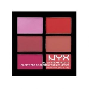 Nyx Pro Lip Cream Palette Huulipunapaletti