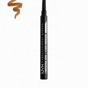 Nyx Professional Makeup 3 Dimensional Brow Kulmakynä Auburn