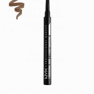 Nyx Professional Makeup 3 Dimensional Brow Kulmakynä Brunette