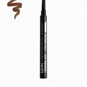 Nyx Professional Makeup 3 Dimensional Brow Kulmakynä Chocolate Brown