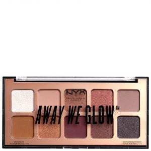 Nyx Professional Makeup Away We Glow Shadow Palette 10g Lovebeam