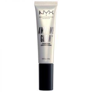 Nyx Professional Makeup Away We Glow Strobing Cream 28 Ml Bright Star