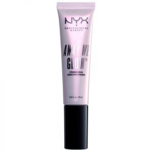 Nyx Professional Makeup Away We Glow Strobing Cream 28 Ml Glowtini