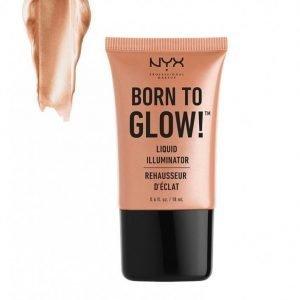 Nyx Professional Makeup Born To Glow Liquid Illuminator Hohdevoide Gleam