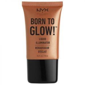 Nyx Professional Makeup Born To Glow! Liquid Illuminator Sun Goddess