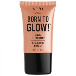 Nyx Professional Makeup Born To Glow! Liquid Illuminator Various Shades Gleam