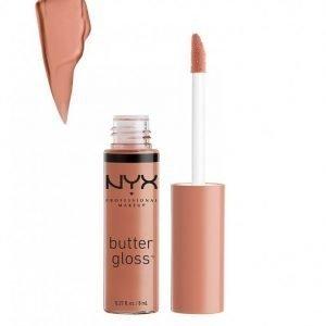 Nyx Professional Makeup Butter Gloss Huulikiilto Madeleine