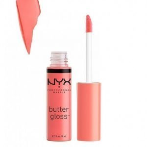 Nyx Professional Makeup Butter Gloss Huulikiilto Maple Blondie