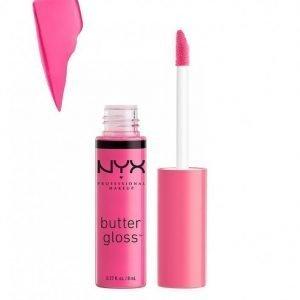 Nyx Professional Makeup Butter Gloss Huulikiilto Strawberry Parfait