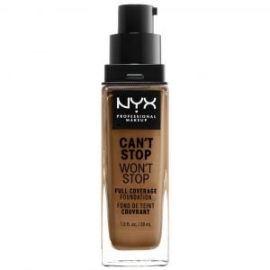Nyx Professional Makeup Can't Stop Won't Stop 24 Hour Foundation Various Shades Almond