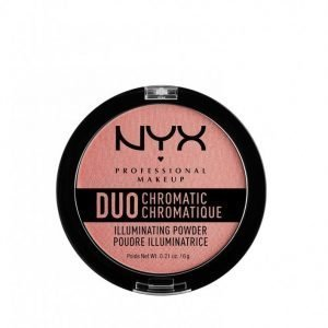 Nyx Professional Makeup Duo Chromatic Illuminating Powder Hohdepuuteri Bloom