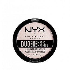 Nyx Professional Makeup Duo Chromatic Illuminating Powder Hohdepuuteri Rose
