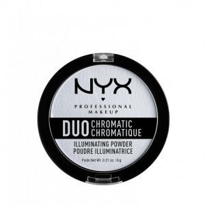 Nyx Professional Makeup Duo Chromatic Illuminating Powder Hohdepuuteri Twilight