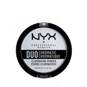 Nyx Professional Makeup Duo Chromatic Illuminating Powder Hohdepuuteri Twilight