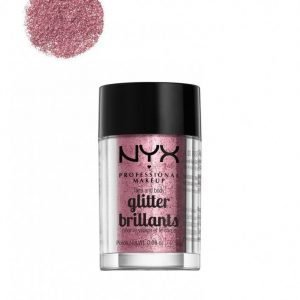 Nyx Professional Makeup Face & Body Glitter Glitteri Rose