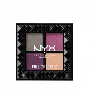 Nyx Professional Makeup Full Throttle Shadow Palette Luomiväri Bossy