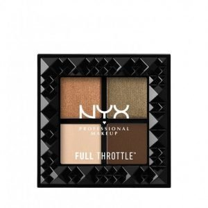 Nyx Professional Makeup Full Throttle Shadow Palette Luomiväri Easy On The Eyes